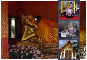 Der liegende Buddha im Wat Pho in Bangkok  Quelle: Janina Benz